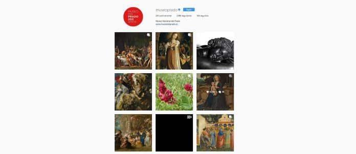 'El Prado' Instagram en clase