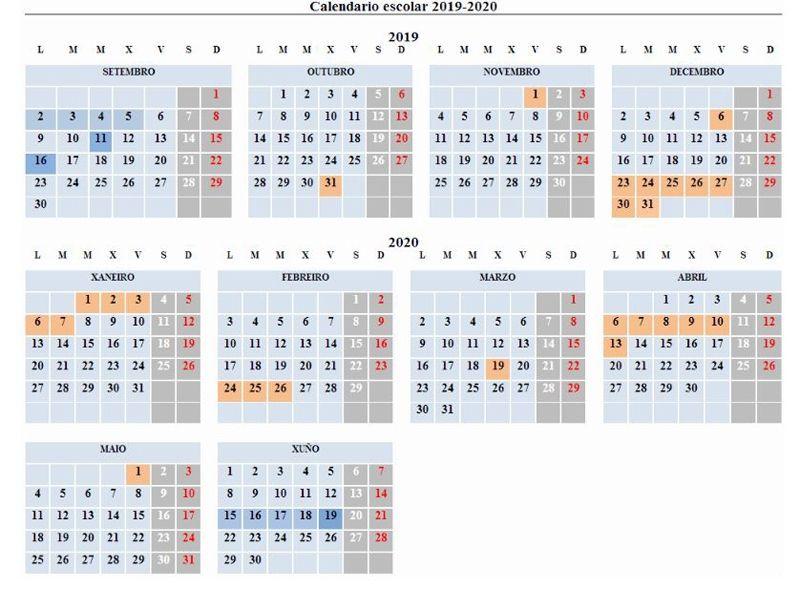 Calendario Escolar 2020 Andalucia.Calendario Escolar 2019 2020 Por Comunidades Y Ciudades Autonomas