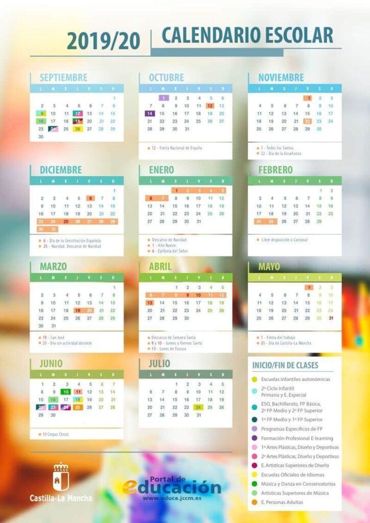 Calendario Castilla La Mancha
