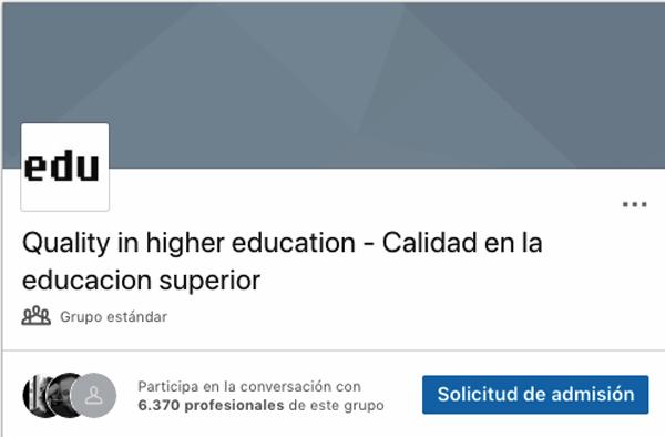 quality higher education linkedin educación