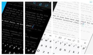 iA Writter apps escrituras creativas