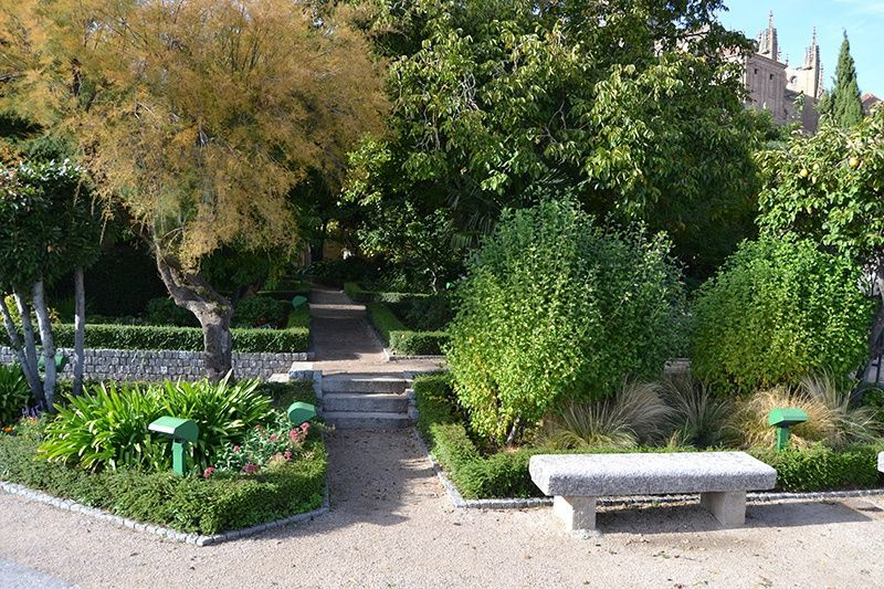 Jardín de Calixto y Melibea lugares clásicos literarios