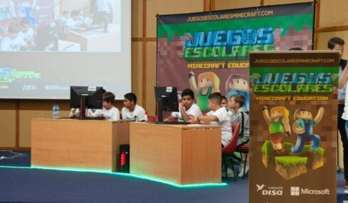 Juegos Escolares Minecraft: Education Edition