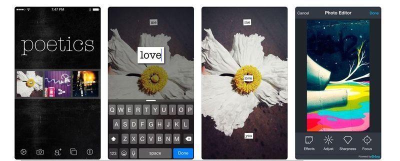 Poetics app poesía