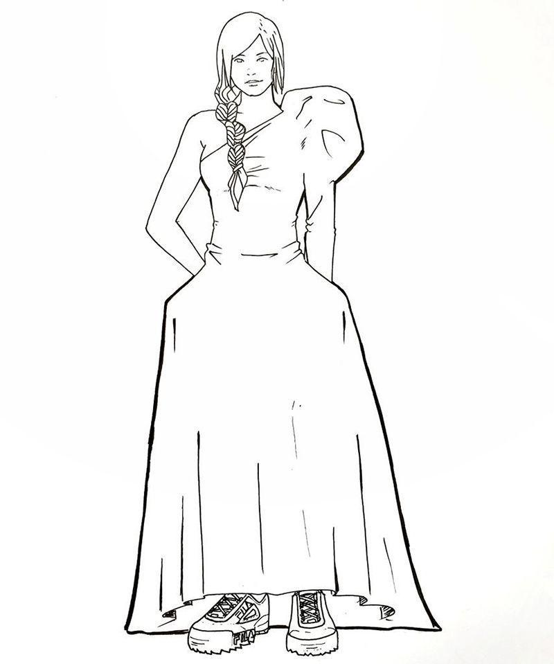 Katniss Vestimenta de los personajes literarios