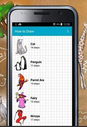 Cómo dibujar app