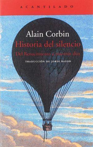 Historia del silencio libro