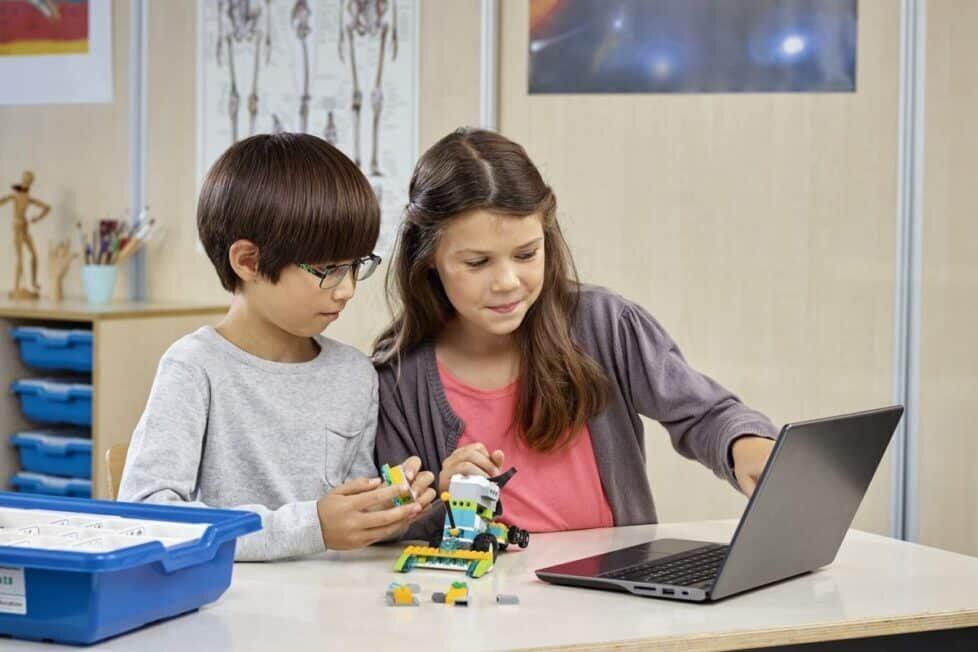 aprender con las STEAM- Lego Robotics