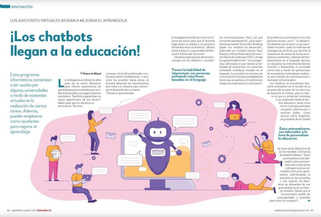 chatbots educación