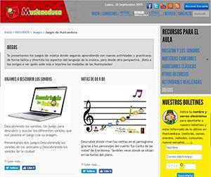 MusicaEduca Juegos