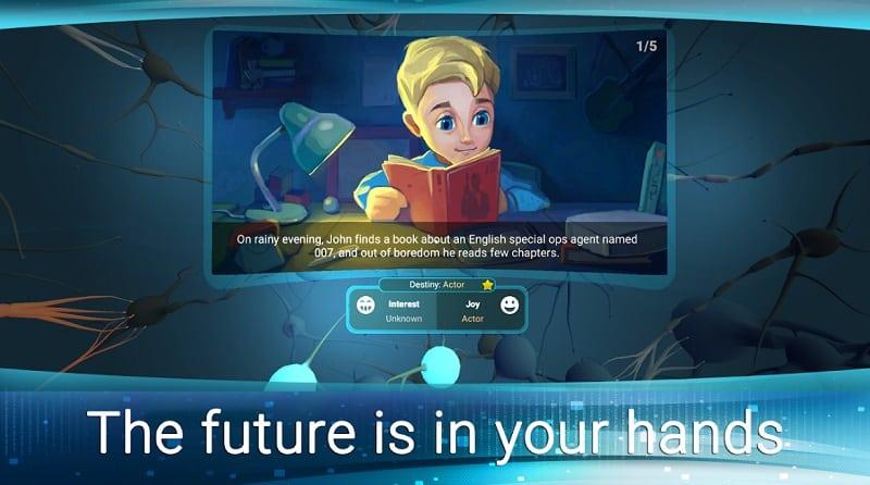 Apps de realidad virtual (InMind VR 2)