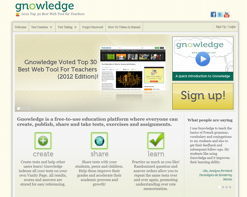Gnowledge