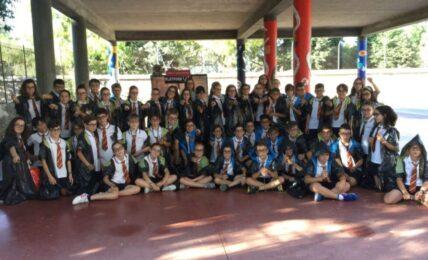 Estudiantes del Colegio Esclavas del Sagrado Corazón de Jesús