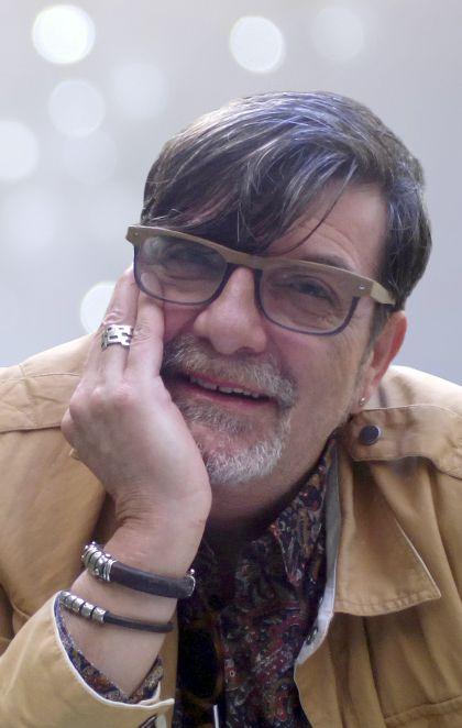José Ramón Olalla en los talleres de SIMO EDUCACIÓN