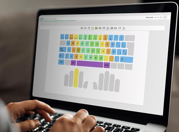 Kluppy, una plataforma para aprende mecanografía