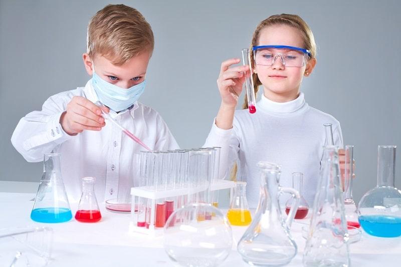 Experimentos de química divertidos para niños (Semana de la Ciencia y la Innovación)