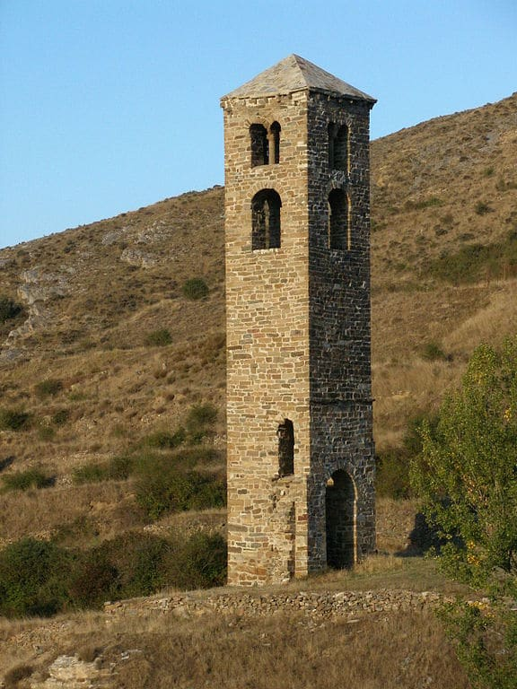 Yanguas (Soria) Torre de San Miguel pueblos históricos