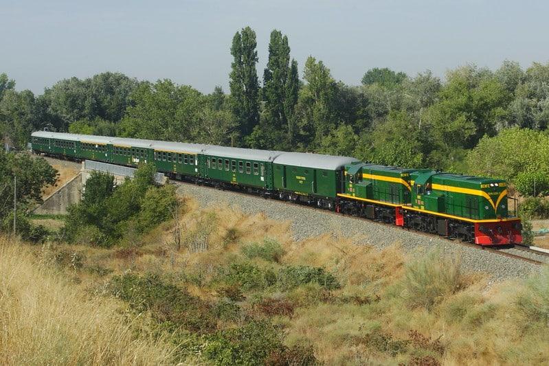 El tren de los lagos