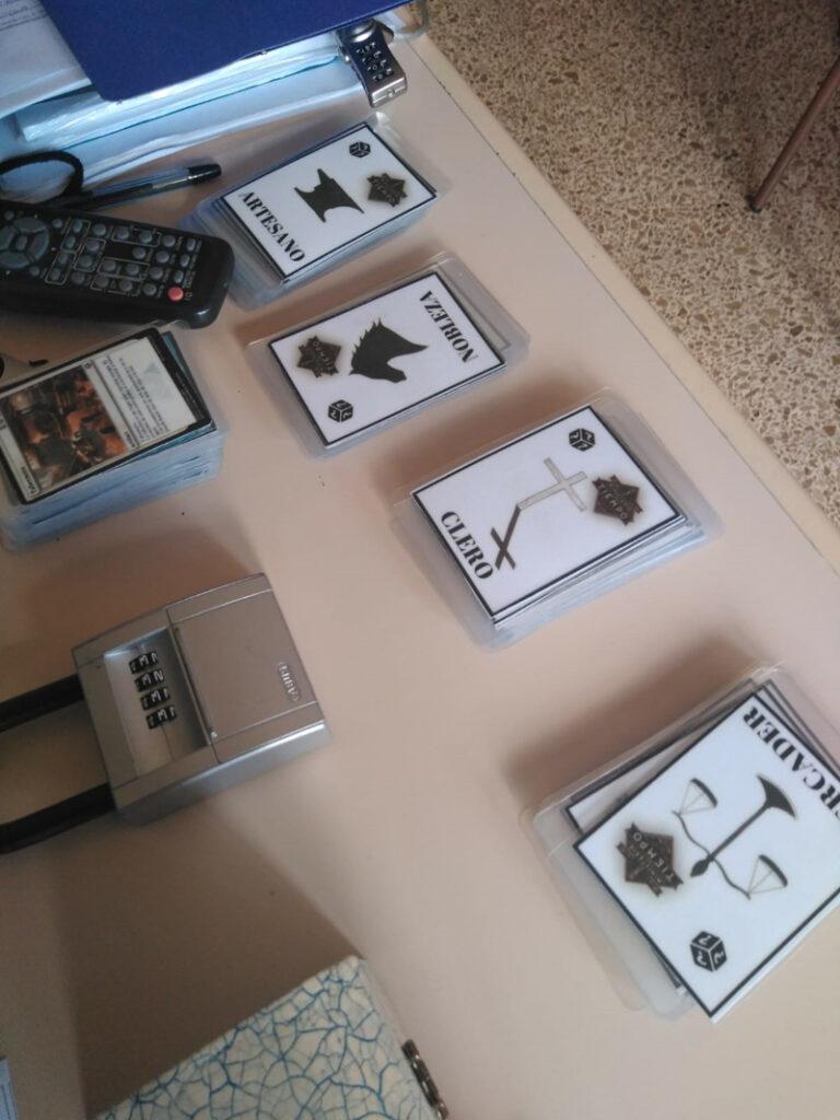 Salvemos El Quijote cartas gamificación