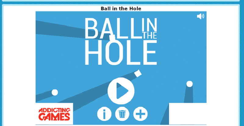 Ball in the hole: recursos para clase de Tecnología