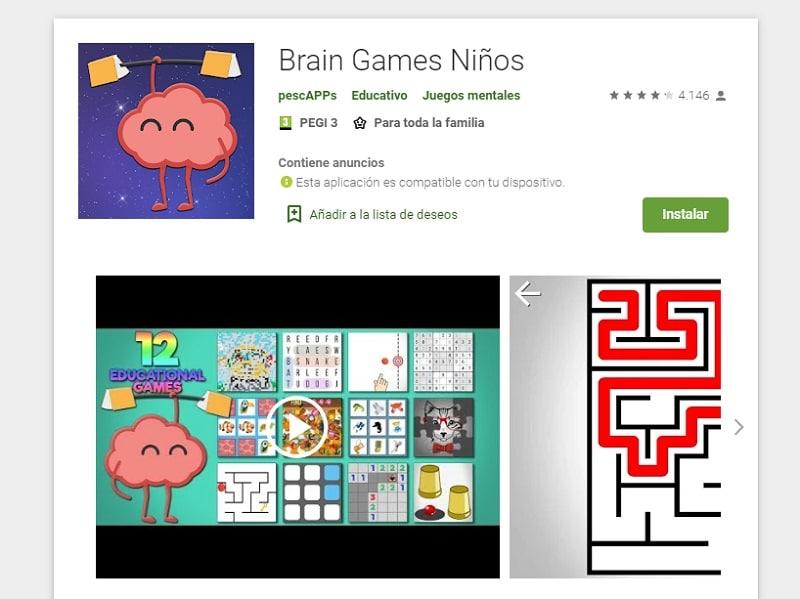 Brain Games para evitar el estrés