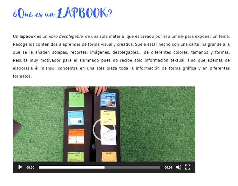 Una pizca de educación plantillas para crear lapbook