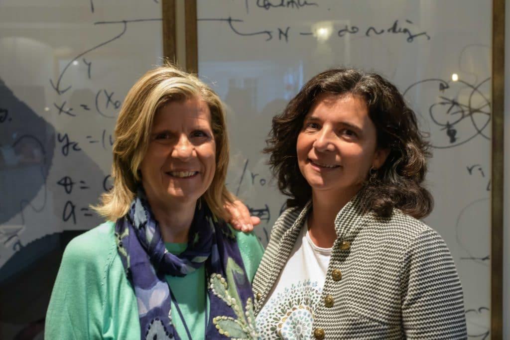 Eva Bach y Montse Jiménez. Padres y madres influencers