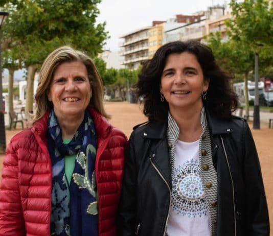 Eva Bach y Montse Jiménez