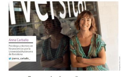 """Anna Carballo: """"La neurociencia permite conocer y mejorar cómo aprende el cerebro"""""""