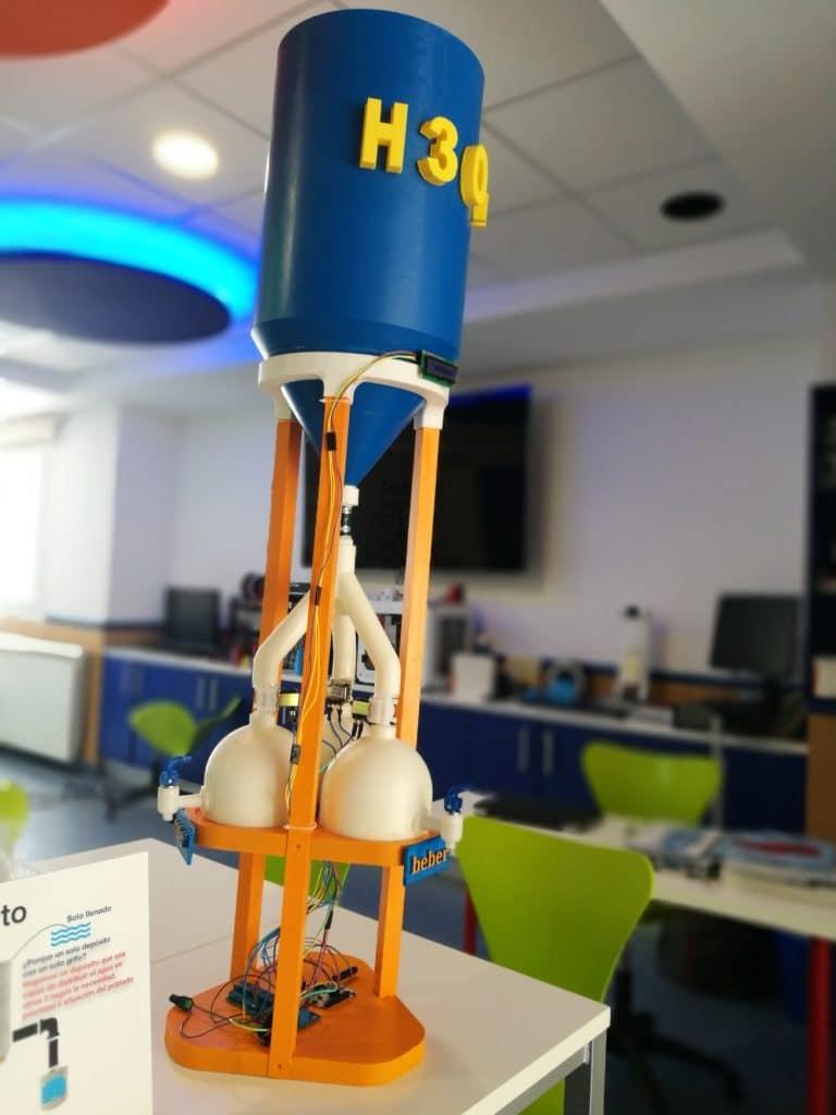 Diseño final del bidón en 3D