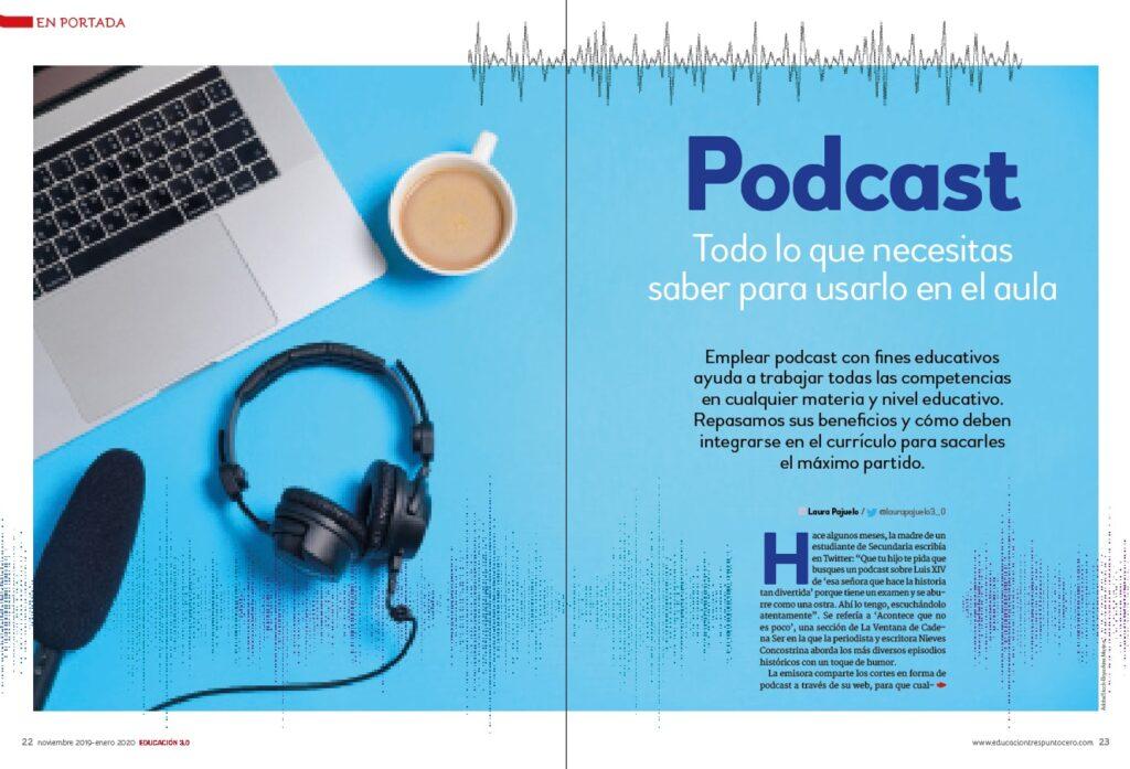 En portada. Podcast