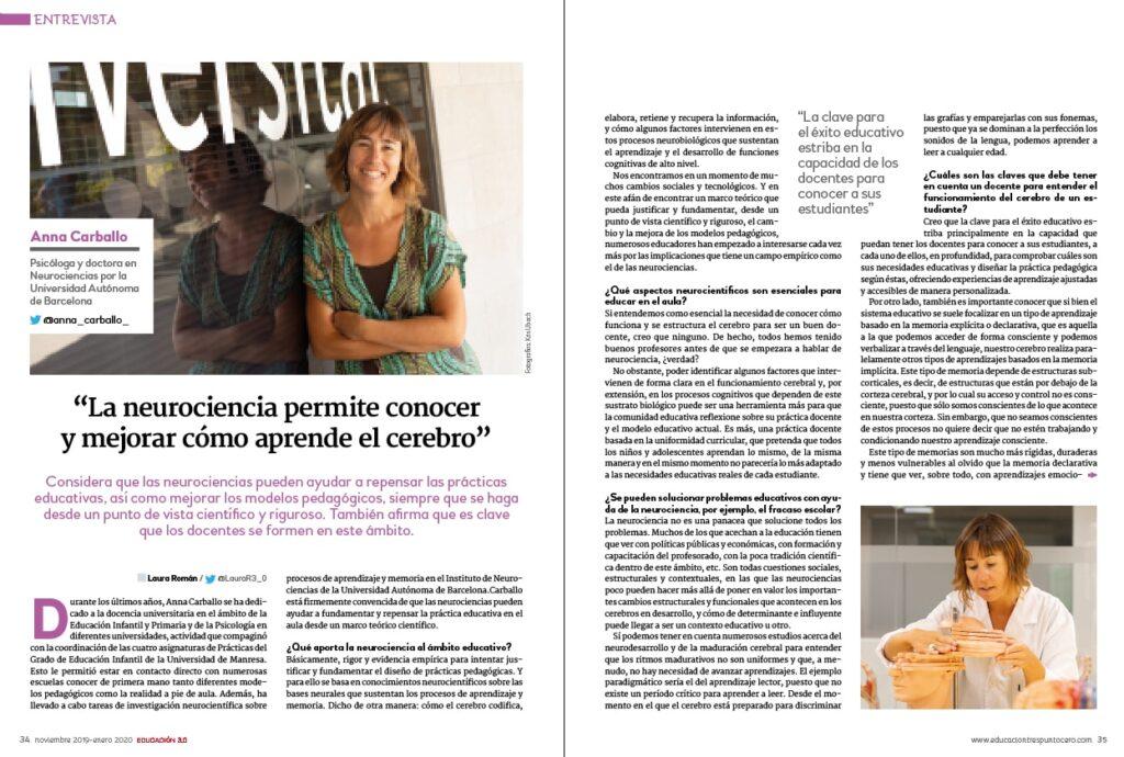 Entrevista a Anna Carballo