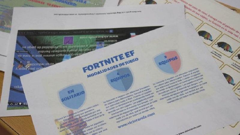 Trabajar con Fortnite