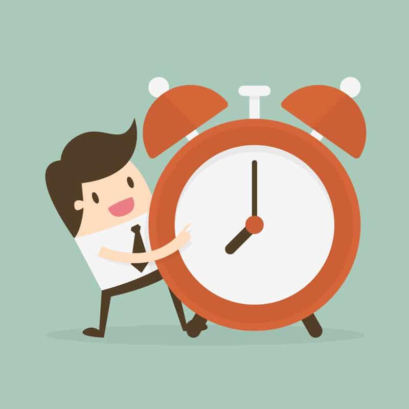 gestionar bien el tiempo