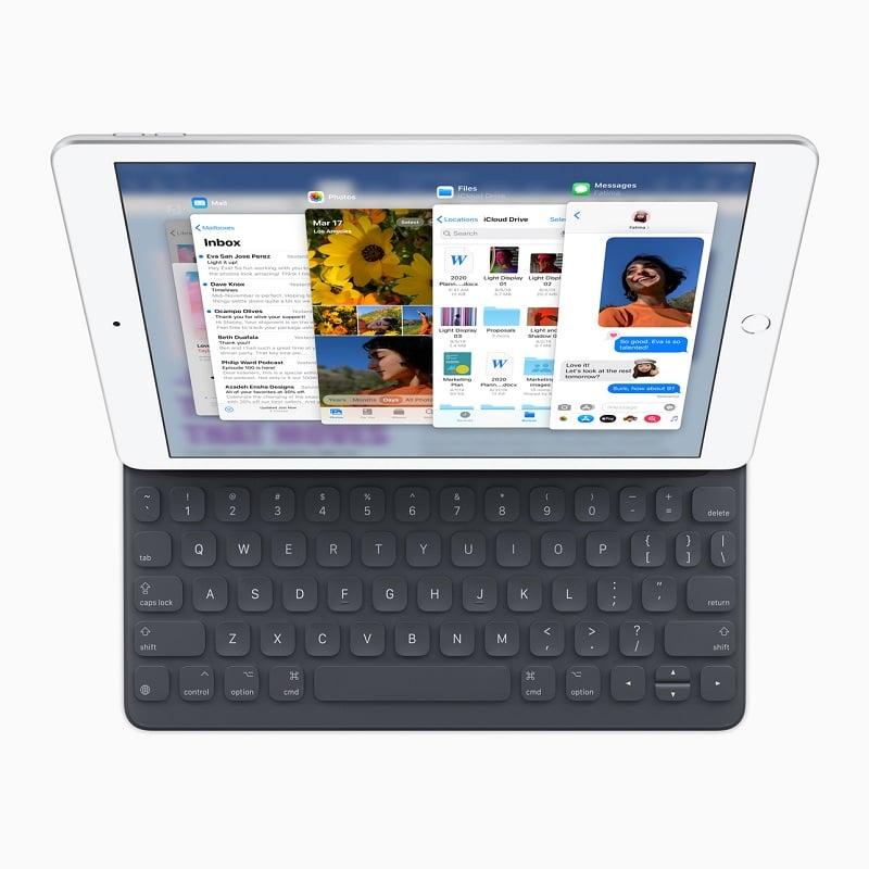 iPad 2019 con teclado