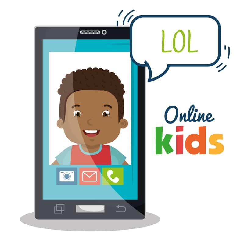 imágenes niños Internet ciberriesgos