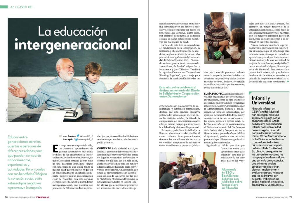 educación intergeneracional