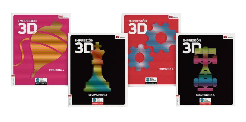 impresión 3D edelvives