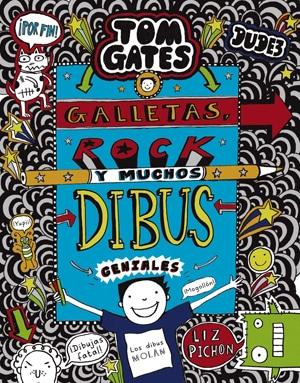 Tom Gates: Galletas, rock y muchos dibus geniales