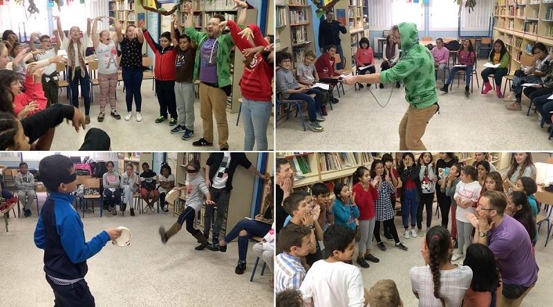El taller sonoro en el que han participado alumnos del CEIP San José Obrero en Sevilla