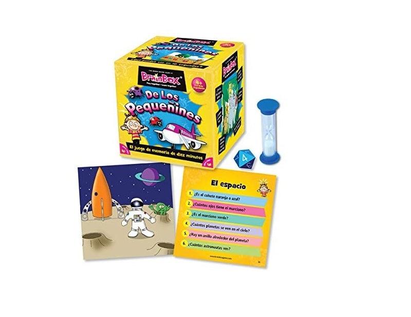 Brain Box Los Pequeñines: juegos de mesa memoria