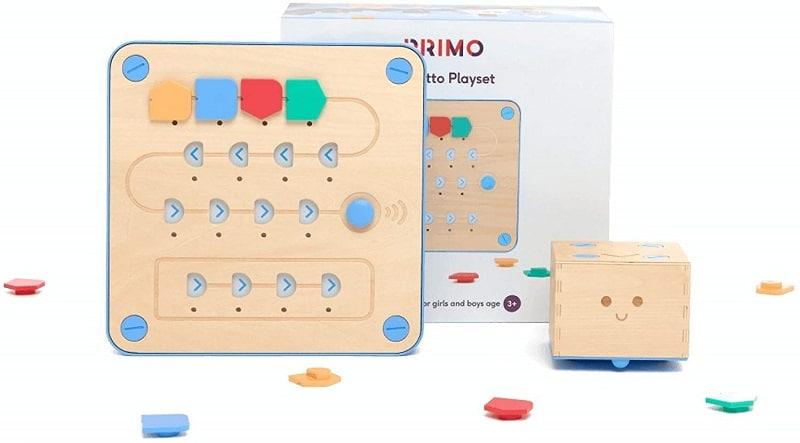 Juegos STEM: Robot CUBETTO Primo