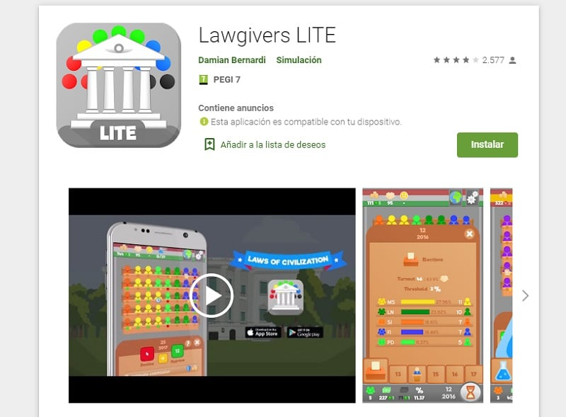 Lawgivers LITE