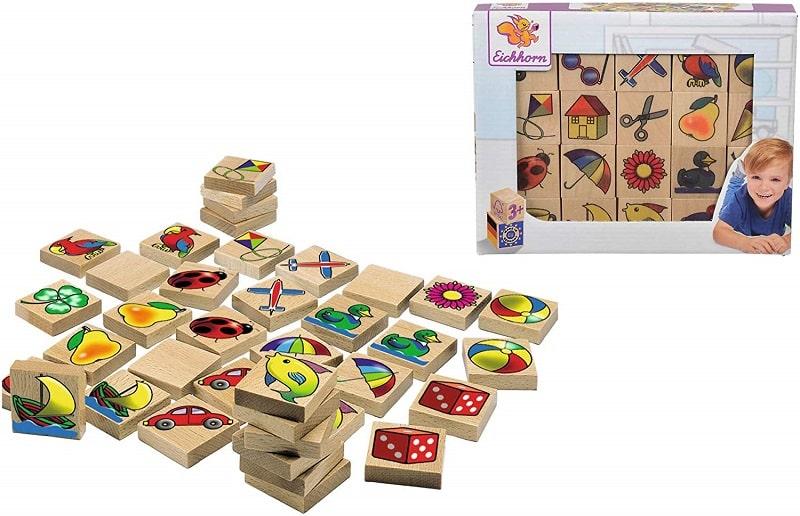 Eichhorn: juegos de mesa memoria