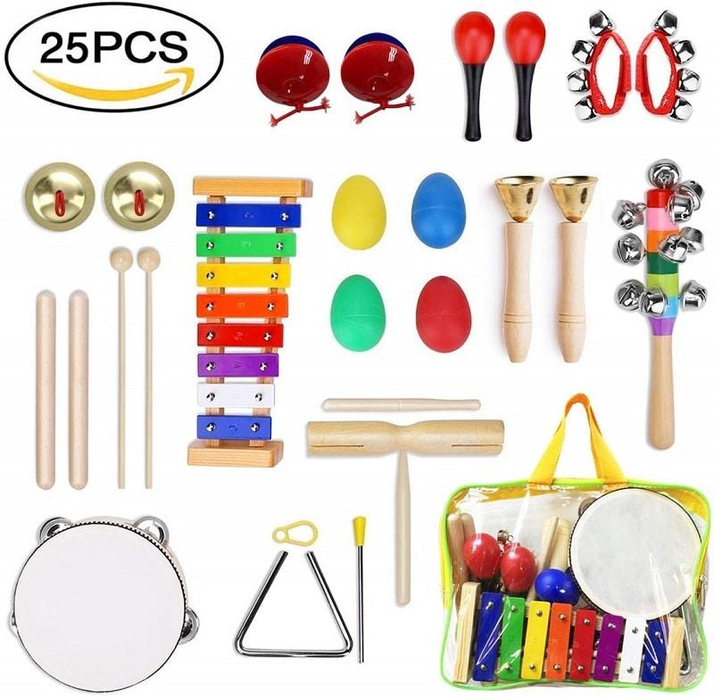 ULIFEME Instrumentos Musicales para Infantil (recursos)