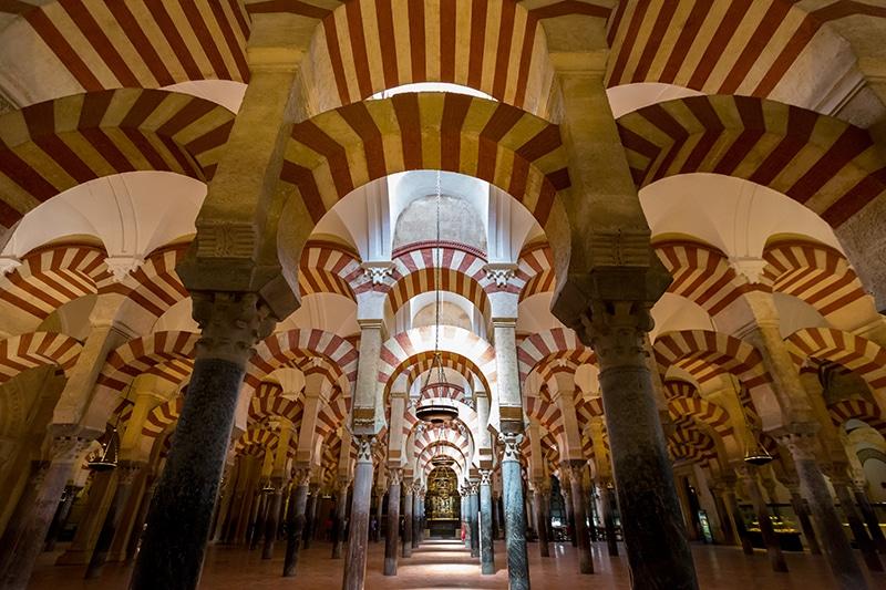 Interior de la Mezquita de Córdoba. España