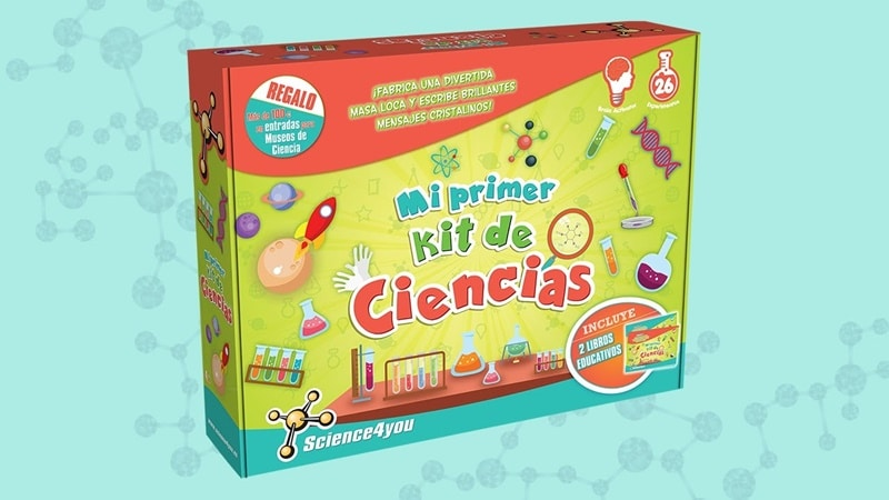Mi primer kit de ciencias