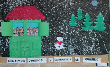 sentimos, vivimos y expresamos el invierno en el aula de infantil