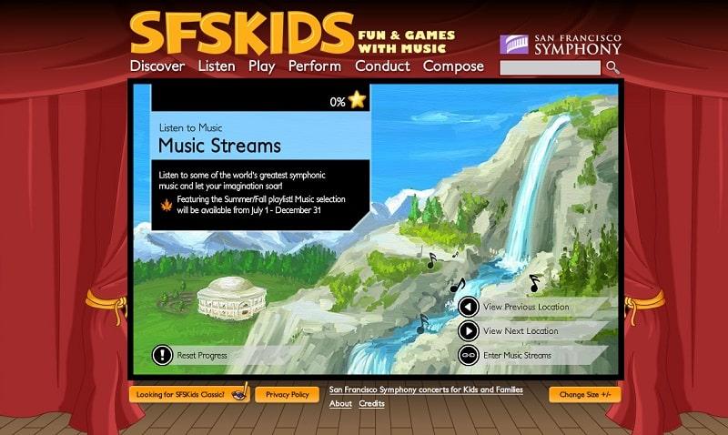 SFS Kids (recursos musicales en inglés)