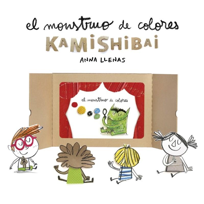 Juguetes educativos: El monstruo de Colores Kamishibai